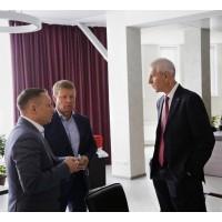 Рабочая встреча с министром спорта Российской федерации в Новосибирске