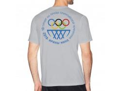 Футболка производства SGC. 13Турнир на призы олимпийской чемпионки ИриныМинх 2019